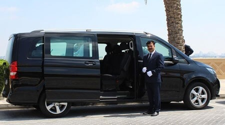 Luxury Van Rental Dubai